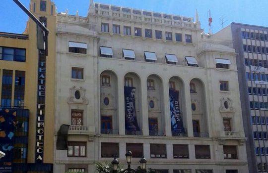 Instalación toldos Ateneo Mercantil de Valencia